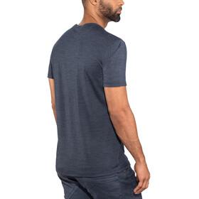 super.natural Essential I.D. T-Shirt Men Navy Blazer Melange/Print